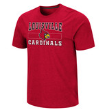 Colosseum Athletics TEE, SS, SWANSON, RED, UL