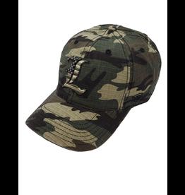 Top of the World HAT, ADJUSTABLE, FLAGDRAB, CAMO, UL