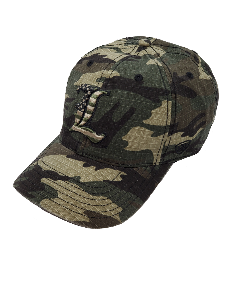 Top of the World HAT, ADJUSTABLE, FLAGDRAB, CAMO, UL