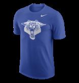 Nike Team Sports TEE, NIKE, SS, DRY DFCT UK LOGO, ROYAL, UK