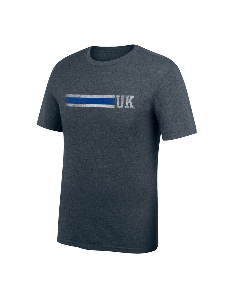 Top of the World TEE, SS, TRIBLEND, 3-STRIPE, CHAR, UK