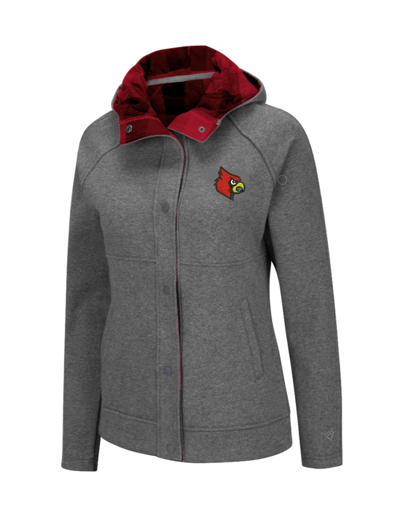 Colosseum Athletics JACKET, LADIES, LUCILLE, PLAID, UL