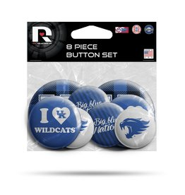 Rico Industries BUTTON SET, 8 PACK, UK