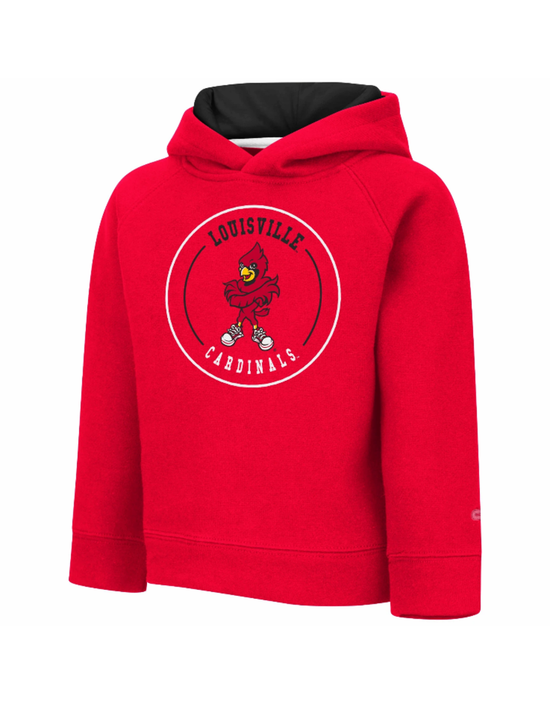 Colosseum Athletics HOODY, TODDLER, PLANKTON, RED, UL