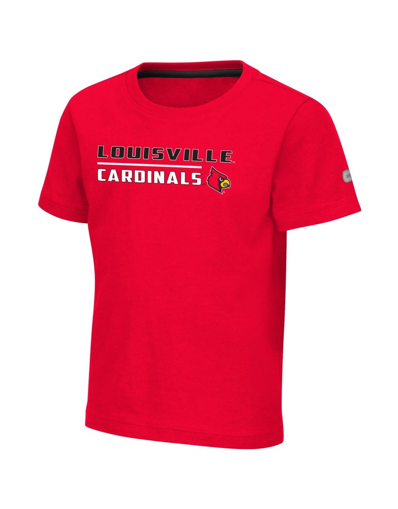 Colosseum Athletics TEE, TODDLER, SS, PATRICK, RED, UL