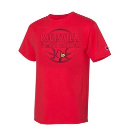 Champion Products TEE, SS, WOMEN'S BBALL, RED, UL