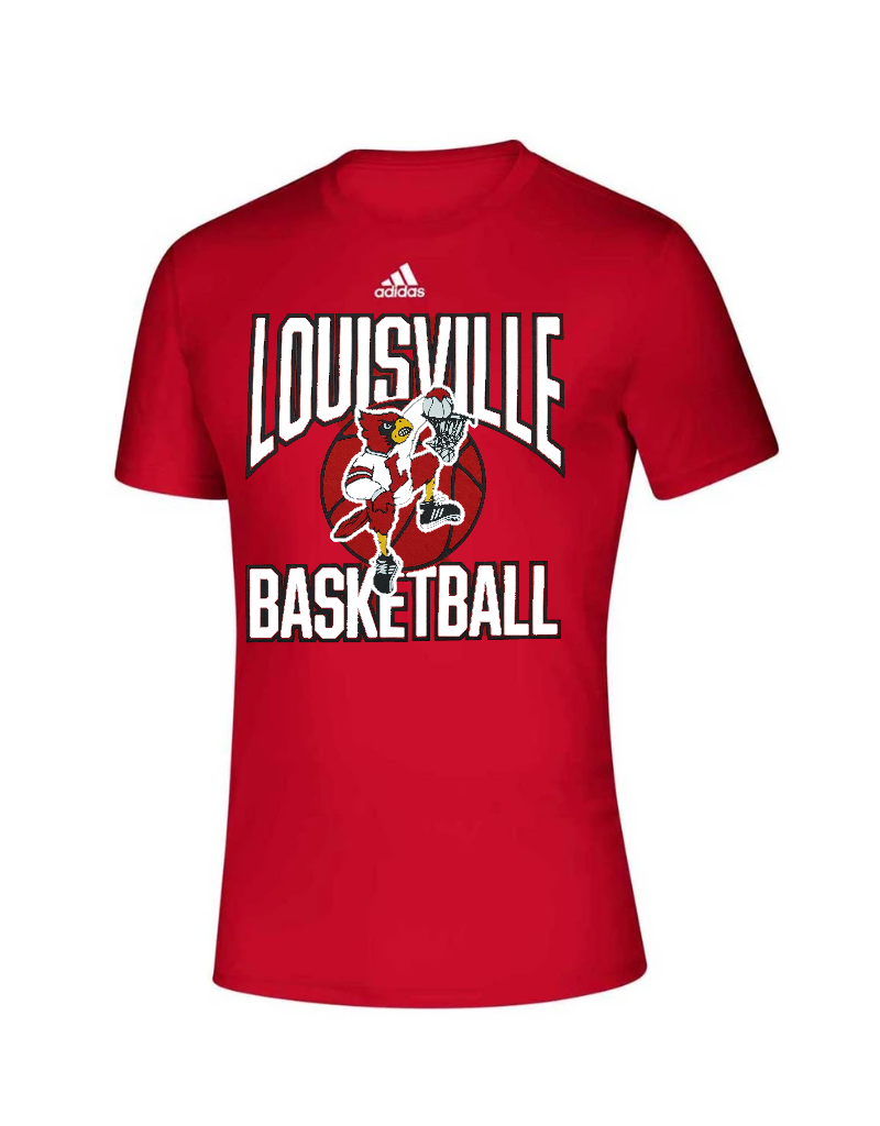 Adidas Sports Licensed TEE, SS, ADIDAS, BASKETBALL, RED, UL