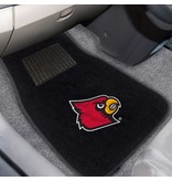 Fanmats CAR MATS, EMBROIDERED, BLACK, UL