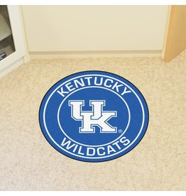 Fanmats MAT, ROUND, LOGO, ROYAL, UK