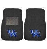 Fanmats CAR MATS, EMBROIDERED, BLACK, UK