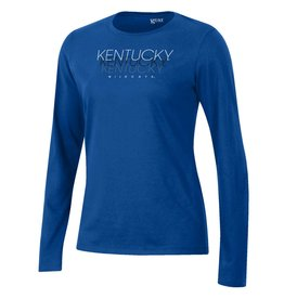 Gear for Sports TEE, LADIES, LS, RELAX, ROYAL, UK