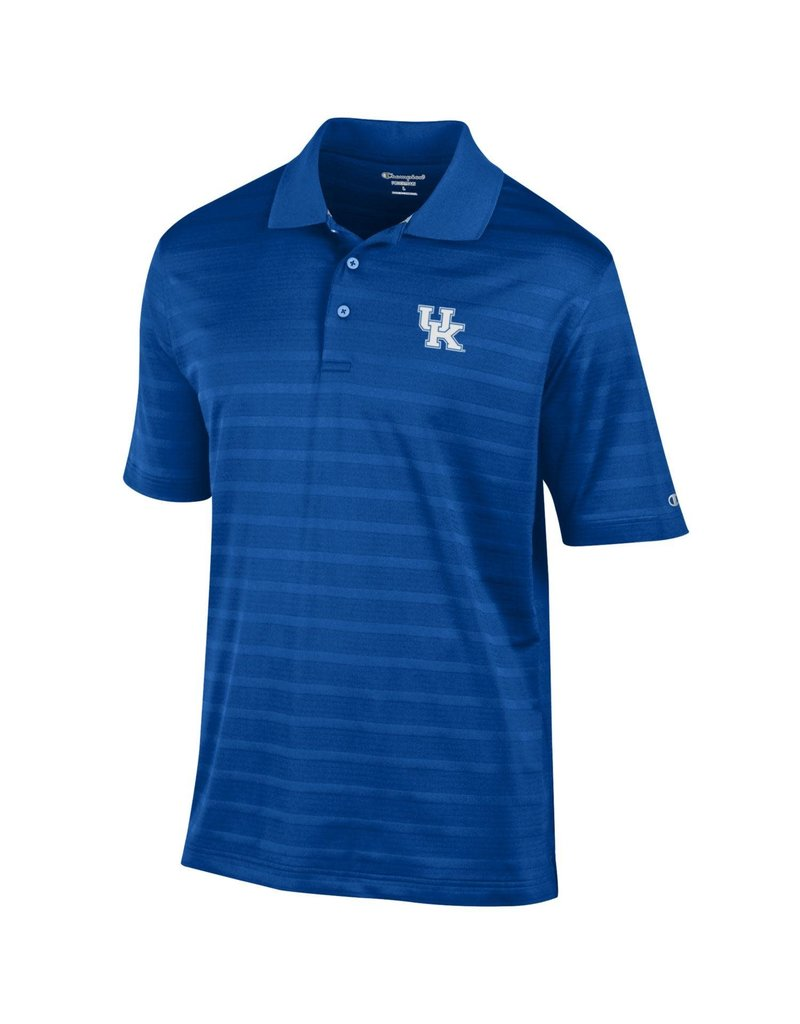 Champion Products POLO, TEXTURED, ROYAL, UK