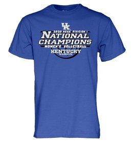 BLUE 84 *TEE, SS, NCAA VOLLEYBALL CHAMPS, UK