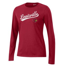 Gear for Sports TEE, LADIES, LS, RELAX, RED, UL