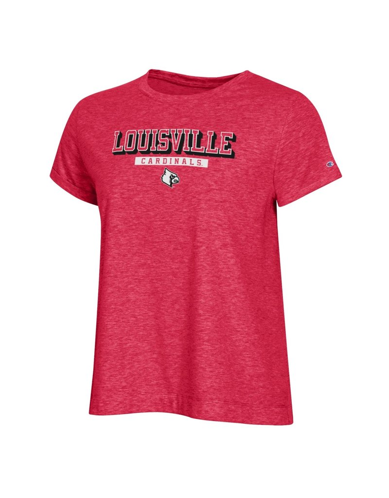 Champion Products TEE, LADIES, SS, FIELD DAY 21, RED, UL