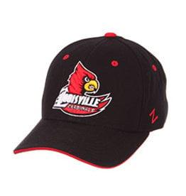 Zephyr Graf-X HAT, FITTED, BIRDWING LOGO, BLACK, UL