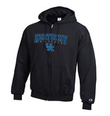 Champion Products HOODY, FZ, POWERBLEND, BLK, UK