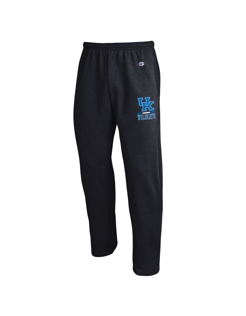 Champion Products PANT, POWERBLEND, OPEN BOTTOM, BLK, UK