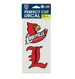 Wincraft Inc DECAL, PERFECT CUT, 2 PCS, 4 IN, UL