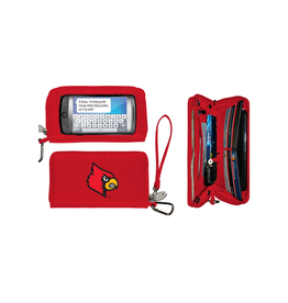 WALLET, DELUXE TOUCH, RED, UL