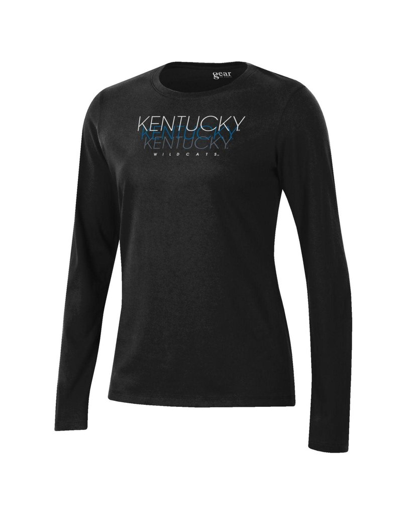 Gear for Sports TEE, LADIES, LS, RELAX, BLACK, UK