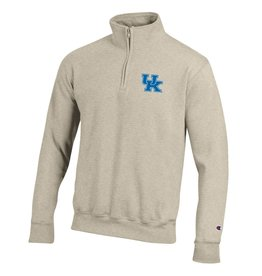 Champion Products PULLOVER, 1/4 ZIP, POWERBLEND, OATMEAL, UK