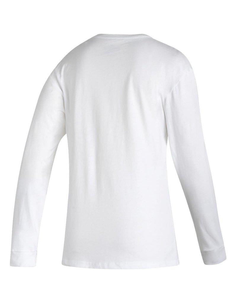 Adidas Sports Licensed TEE, LS, ADIDAS, AMPLIFIER 21, WHITE, UL