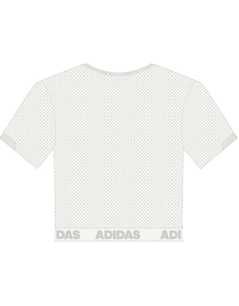 Adidas Sports Licensed JERSEY, LADIES, ADIDAS, CROP 21, WHITE, UL
