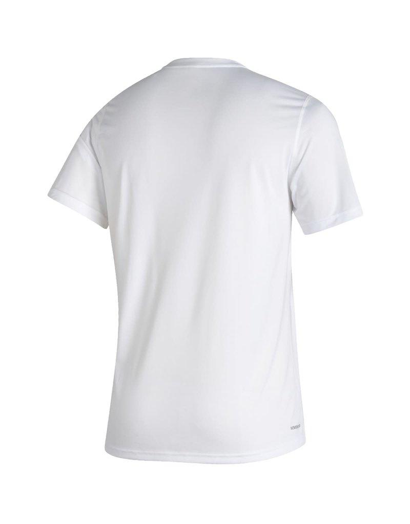Adidas Sports Licensed TEE, SS, ADIDAS, CREATOR EST DATE 21, WHITE, UL
