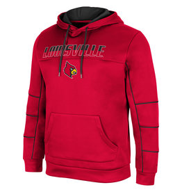 Colosseum Athletics HOODY, TEN SESSIONS, RED, UL