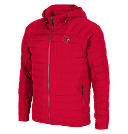 Colosseum Athletics JACKET, PUFFER, SUIT UP, RED, UL