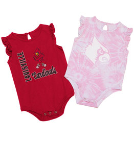 Colosseum Athletics ONESIE, INFANT, GIRLS, 2 PACK, RED/TD, UL