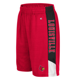 Colosseum Athletics SHORT, YOUTH, WONKAVISION, RED, UL