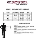 Colosseum Athletics TANK, LADIES, RACERBACK, SHARE IT, CHAR/RED, UL