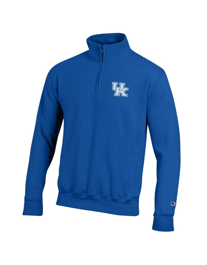 Champion Products PULLOVER, 1/4 ZIP, POWERBLEND, ROYAL, UK