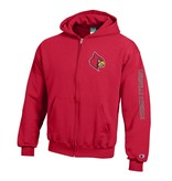 Champion Products JACKET, YOUTH, FZ, 2 LOC, RED, UL