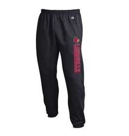 Champion Products PANT, POWERBLEND, CLOSED BOTTOM, BLACK, UL