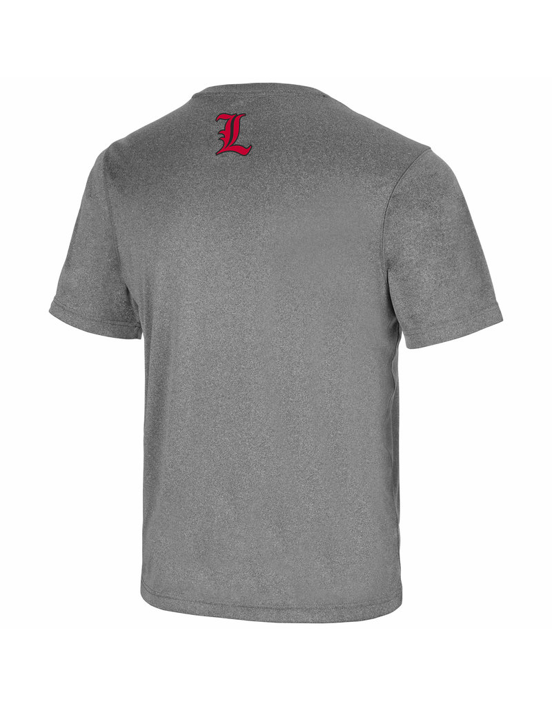 Colosseum Athletics TEE, SS, DEFINITIONS, CHARCOAL, UL