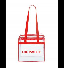 Kentucky Souvenirs BAG, CLEAR, 12x12x6, LOUISVILLE, UL