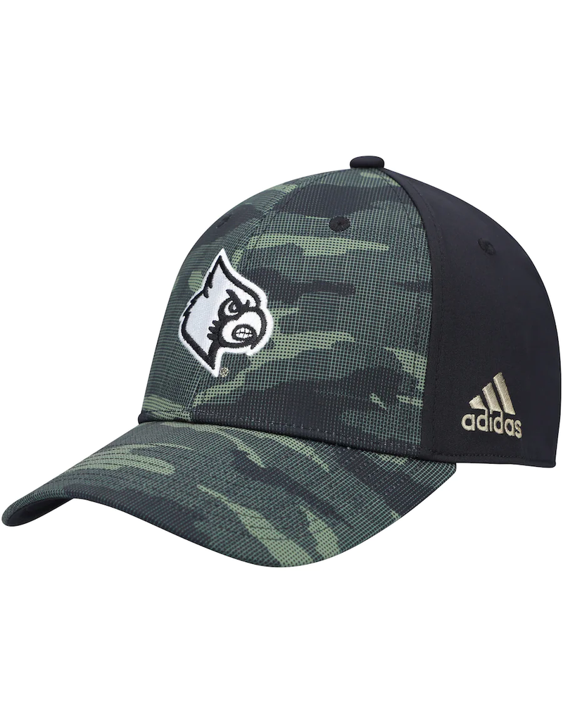 Adidas Sports Licensed HAT, ADIDAS, CAMO STRUCTURED 21, CAMO/BLK, UL