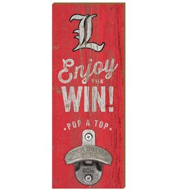 BOTTLE OPENER, WALL MOUNT, RED, UL