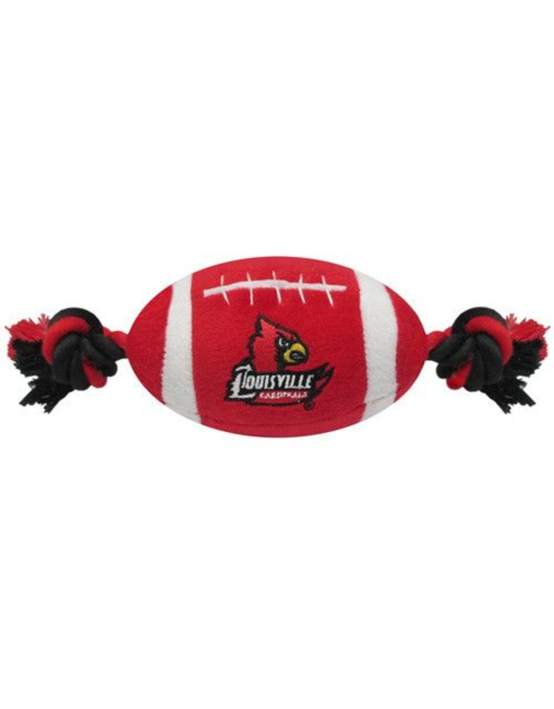 Pets First Co DOG TOY, FOOTBALL, RED, UL