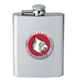 Heritage Metalworks FLASK, PEWTER, 8 oz, UL