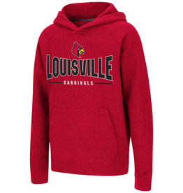 Colosseum Athletics HOODY, YOUTH, GOLD TICKET, RED, UL