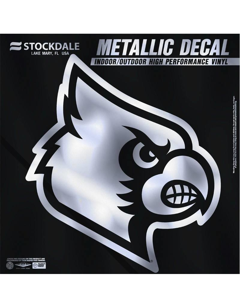 Stockdale Technologies DECAL, SILVER CARDINAL, 6 INCH, UL