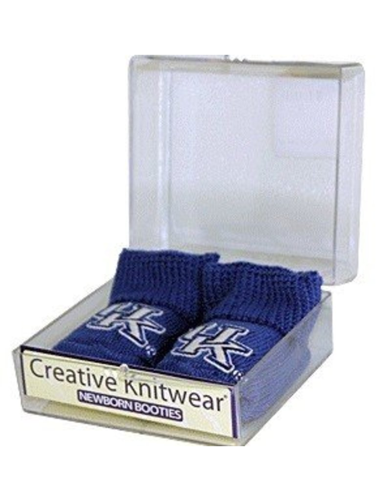 Creative Knitwear BOOTIES, INFANT, ROYAL, UK