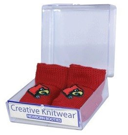 Creative Knitwear BOOTIES, INFANT, RED, UL