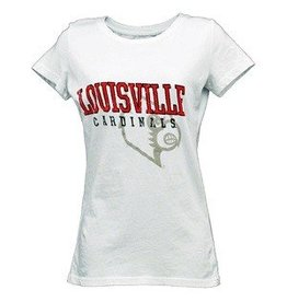 BLUE 84 TEE, LADIES, SS, CONTACT, WHITE, UL-C