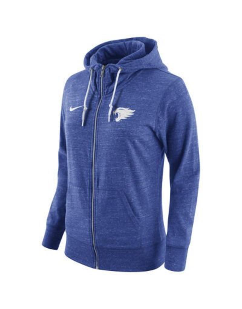 Nike Team Sports HOODY, LADIES, NIKE, FULL-ZIP, VINTAGE, ROYAL, UK