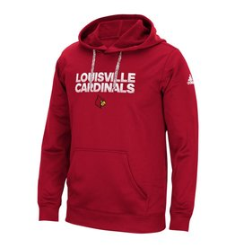 Adidas Sports Licensed HOODY, ADIDAS, SIDELINE HUSTLE, RED, UL